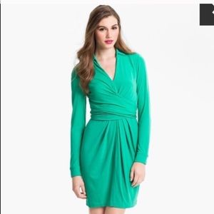 Vince Camuto Green Wrap Dress